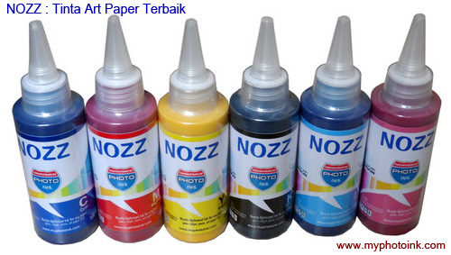 Nozz art paper epson 6 color